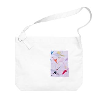 シナプス Big shoulder bags