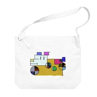 ざっしゅいぬ Big shoulder bags