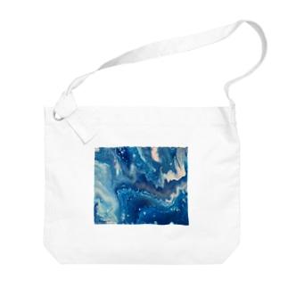 氷の隙間 Big shoulder bags