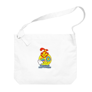 リンカーくん Big shoulder bags