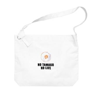 NO TAMAGO NO LIFE Big shoulder bags