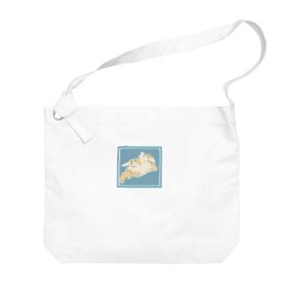 もふもふにゃんこ Big shoulder bags
