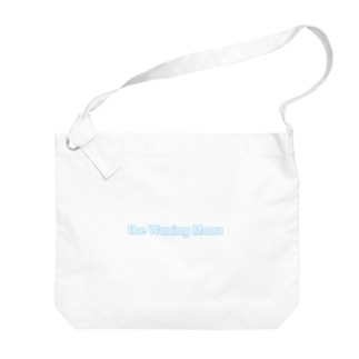 the Waning Moon LOGO Big shoulder bags