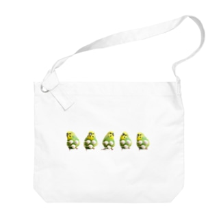 夏のおかゆ 集合 Big shoulder bags