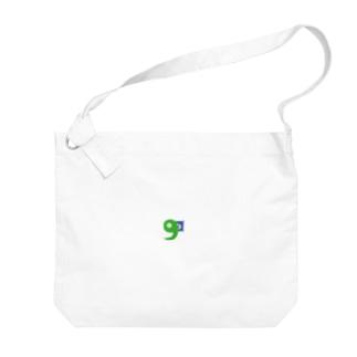 ひるねg Big shoulder bags
