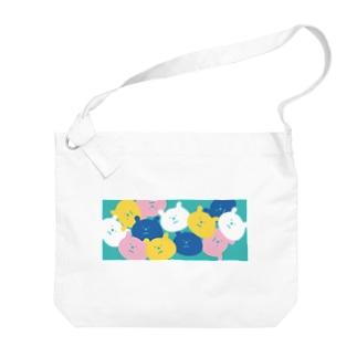 パラパラクマ レトロカラー3gr Big shoulder bags