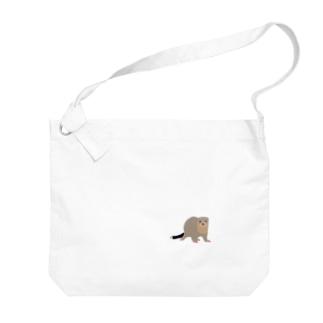フェレットのクク Big shoulder bags