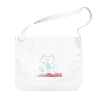 スーサイド・ねこ Big shoulder bags