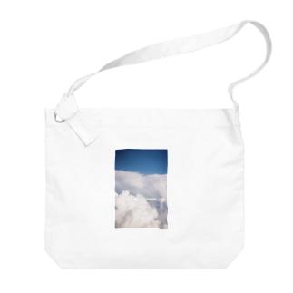 look up to the sky Big Shoulder Bag