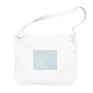 hikaロゴバッグ Big shoulder bags