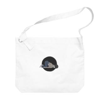 ムサシ Big shoulder bags