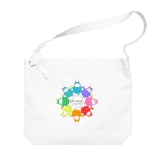 カバロバ circle Big shoulder bags
