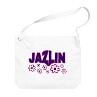 JAZLIN- VIBRANT PURPLE Big shoulder bags