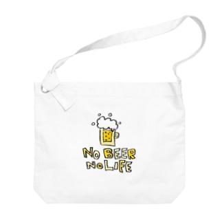 Children's Art / ノービールノーライフ NO BEER NO LIFE Big shoulder bags