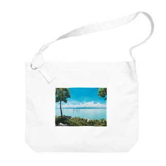 南の島 Big shoulder bags