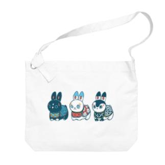 HARIKO兎  Big shoulder bags