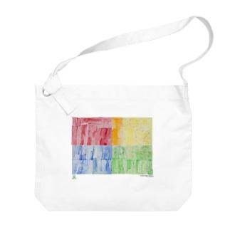 天才アートKYOTO_足立茉莉_2−2 Big shoulder bags