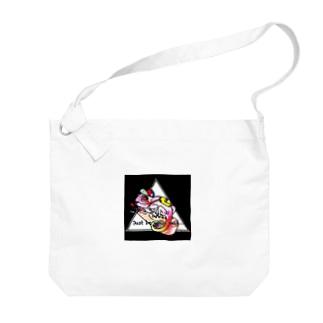 カラフル+カメレオン Big shoulder bags