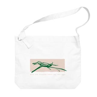 馬 uma-running-coralback design Big shoulder bags