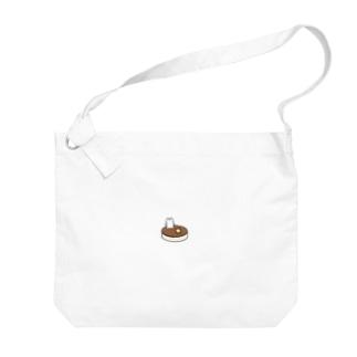 クラハムオンパンケーキ Big shoulder bags