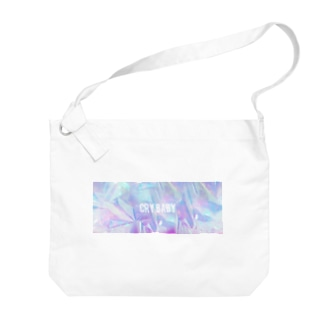 Holographic CRYBABY Big shoulder bags