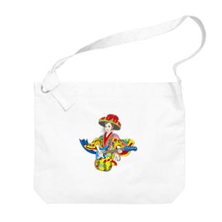 琉球ROCK(琉球衣装女子) Big shoulder bags