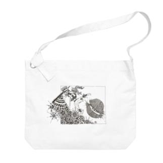 87uta  「ブレイカー」 ビッグショルダーバッグ Big shoulder bags