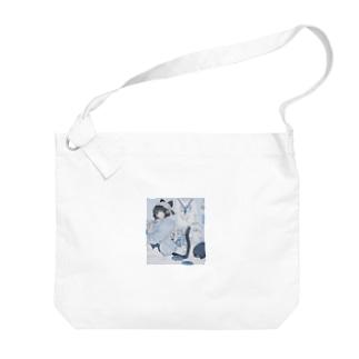 BLUEの音猫ちゃんPart2 Big shoulder bags