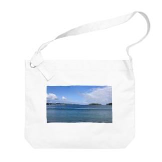see sea Big shoulder bags