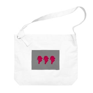 ベーとーべん Big shoulder bags