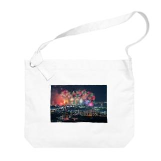 花火メイン Big shoulder bags