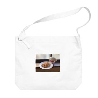 ナタリーとアップルパイ Big shoulder bags
