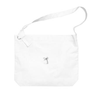 YOLOヤシの木バッグ Big shoulder bags