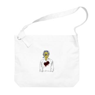 トクメイ社会 Big shoulder bags