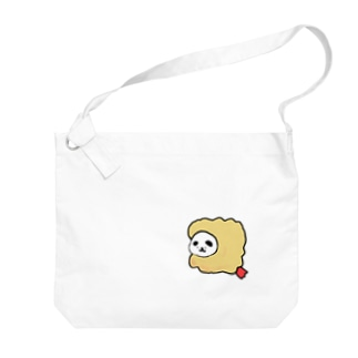 揚げイーヌ Big shoulder bags