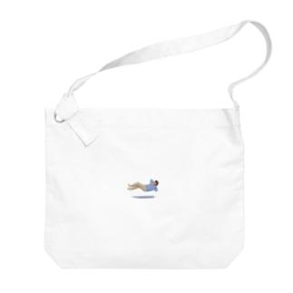 浮遊のんびり Big shoulder bags