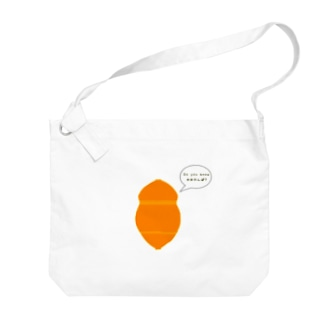 Do you know かめかんぼ? Big shoulder bags