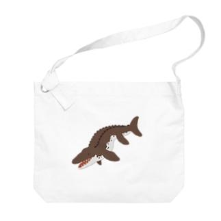 モササウルスブラウン Big shoulder bags
