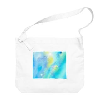 ギヤマンハナクラゲ Big shoulder bags