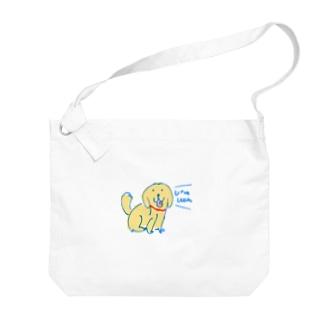 WanWanPandaのゴル Big Shoulder Bag