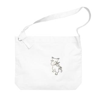 フィドル弾く猫 1 Big shoulder bags