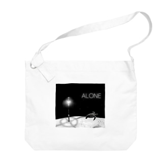 ANOTHER GLASSのALONE Big shoulder bags
