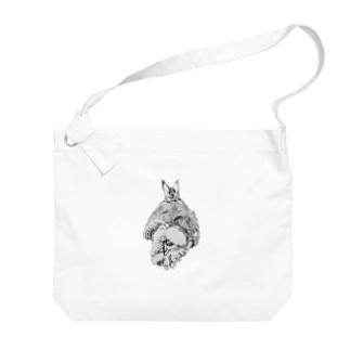 エビフライ(ぷち) Big shoulder bags