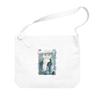 eseeのCool Glitch Big shoulder bags