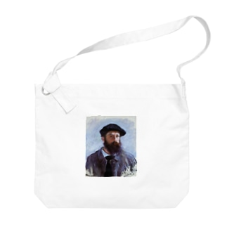 Art Baseのクロード・モネ / 1886 / Self-Portrait with a Beret / Claude Monet Big shoulder bags