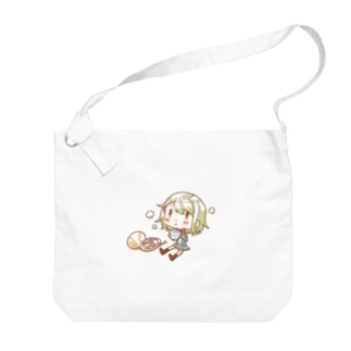 朱音ちゃんひと息トート Big shoulder bags