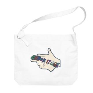 チェケラ!! Big shoulder bags