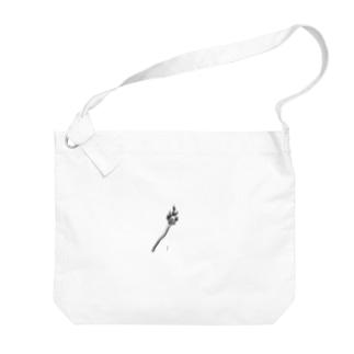 マッチくん Big shoulder bags