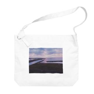 富山県氷見市 Big shoulder bags