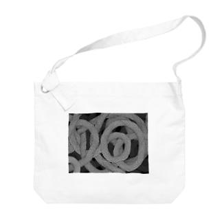 蛇柄 Big shoulder bags